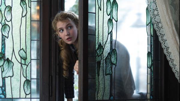 Sophie Nelisse says years of training as a gymnast taught her to focus in ways that helped her acting on the set of <em>The Book Thief</em>.