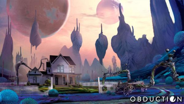 Promotion photo from Obduction.