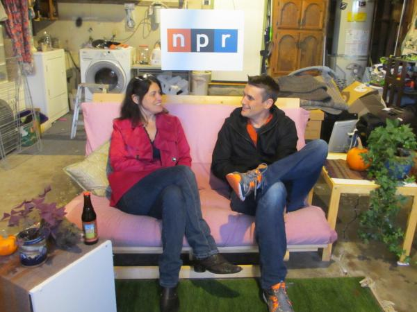 NPR correspondents Laura Sydell and Steve Henn introduce this week's tech team podcast from a garage in Silicon Valley.
