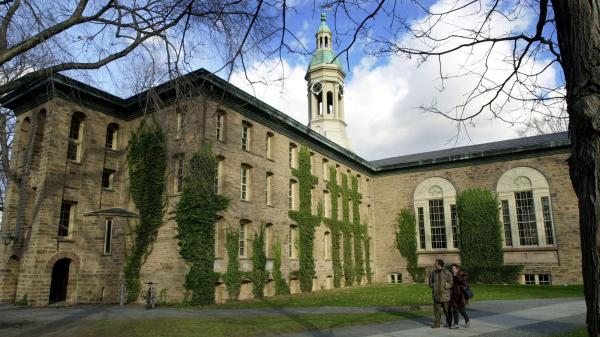 Princeton University's Nassau Hall. The New Jersey university has seen seven cases of bacterial meningitis since March.