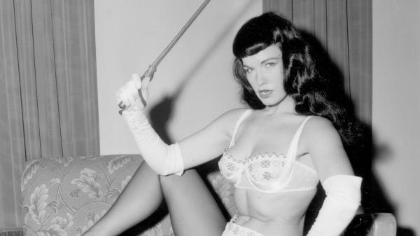 <em>Bettie Page Reveals All</em> digs deep into the storied life of the 1950s model, seen here in one of the many photos featured in the documentary.