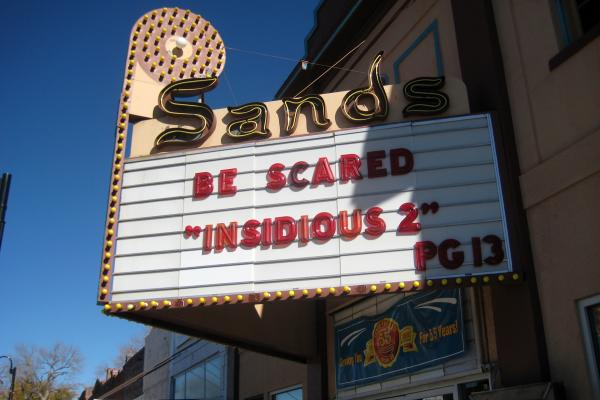 The Sands Theater in Brush got a $20,000 grant from the state, and will need to come up with an additional $30,000 to convert digitally.