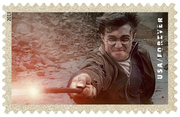 The cash-strapped U.S. Postal Service hopes its new <em>Harry Potter</em> stamps will spark enthusiasm among a new generation of stamp collectors.