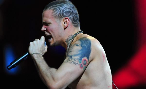 Rene Perez Joglar of the Puerto Rican group Calle 13.