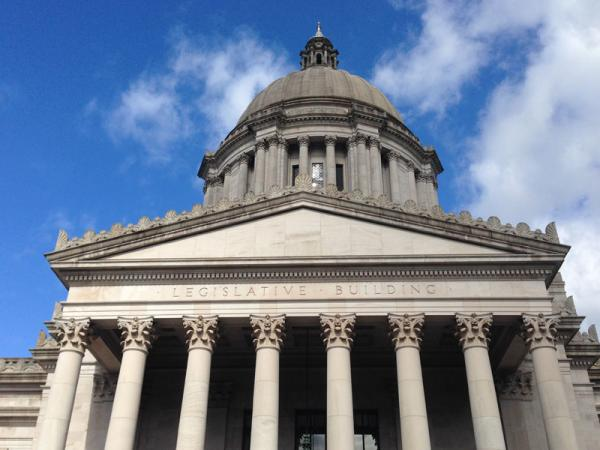 File photo of the Washington State Capitol Building