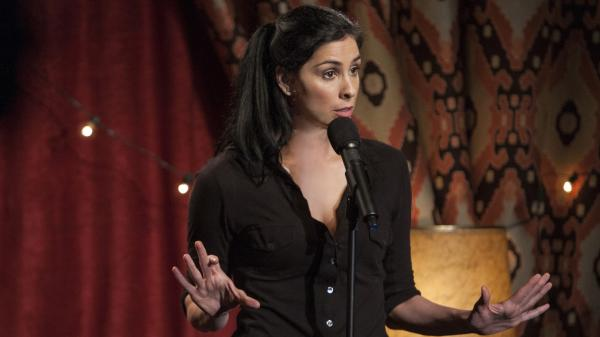 "Nothing's sacred in <em>We Are Miracles</em> — but then as Sarah Silverman <a href=""http://www.npr.org/2010/12/31/132489395/sarah-silverman-playing-the-dummy-for-laughs"">told Terry Gross in 2010</a>, ""there's a safety in what I do because I'm always the idiot. ... I'm always the ignoramus no matter what I talk about or what tragic event, off-color, dark scenario is evoked in my material."""