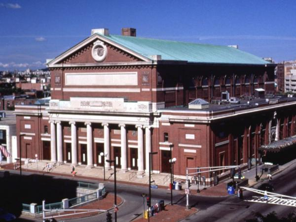 The Boston Symphony Orchestra was mid-performance when the news of President Kennedy's assassination broke.