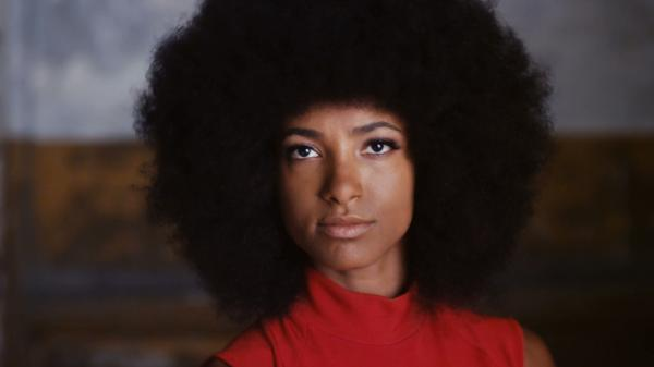 Grammy Award-winner Esperanza Spalding in her video 'We Are America.""