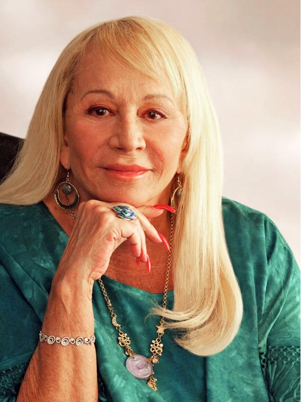 Psychic and author Sylvia Browne, seen in this undated photo, said she believed in reincarnation and could help people communicate with their dead loved ones.