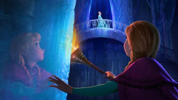 The new Disney film <em>Frozen</em> is the tale of sisters Anna and Elsa, whose relationship is captured in music by songwriters Robert Lopez and Kristen Anderson-Lopez.