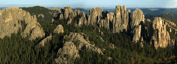 The Cathedral Spires in the Black Hills of South Dakota are just one of innumerable formations across the planet that speak to the Earth's ancient history.