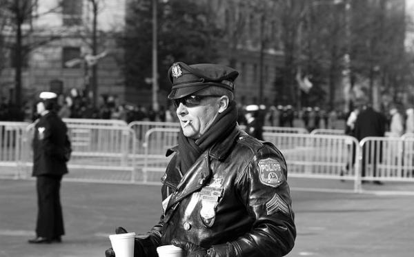 "Linguist Ben Zimmer says that the term ""Black Friday"" has more to do with Philadelphia Police than retailers. (Damon Green/Flickr)"
