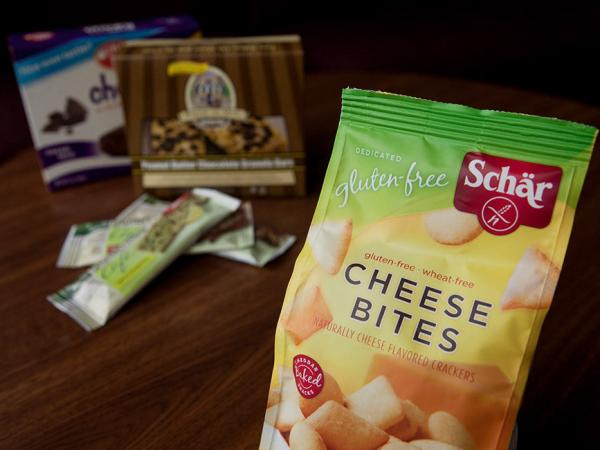 <p>A selection of gluten-free products.</p>