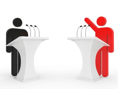 How can Americans make political debates more civil and relevant to the issues at stake?