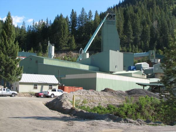 The Lucky Friday Mine in Idaho's Silver Valley, shown in 2007, was temporarily shut down in January while it complies with safety regulations, according to the mine's operator, Hecla Mining.