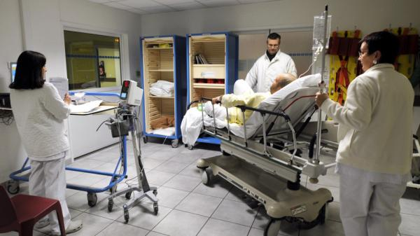 A patient is treated at the Nord Hospital in Marseille, France, in February. European countries have also been engaged in intense debates on the future of their health care systems, where universal coverage is the norm.