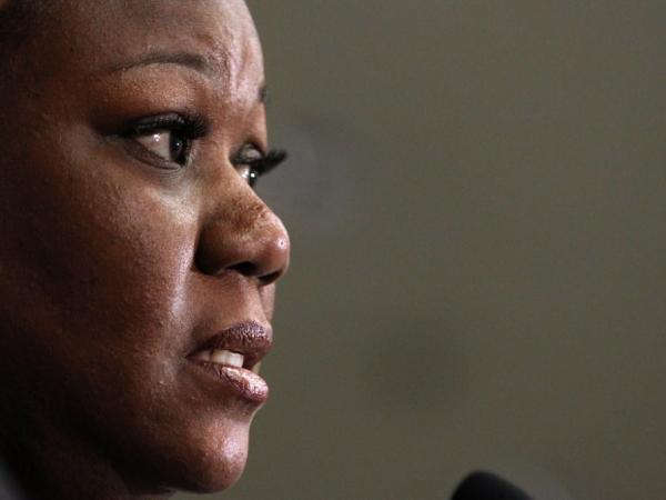 Trayvon Martin's mother, Sybrina Fulton.