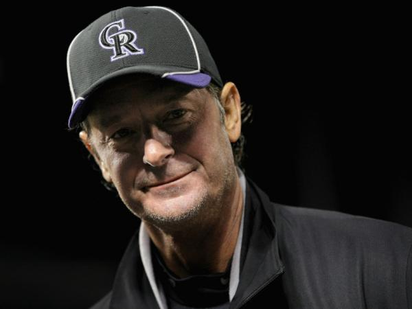 Jamie Moyer of the Colorado Rockies after his record-setting win Tuesday night in Denver.