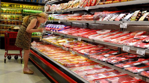 "A ""historically low inventory"" of cattle and hogs is driving up meat prices, a trend that's expected to continue next year, USDA economist Richard Volpe says."
