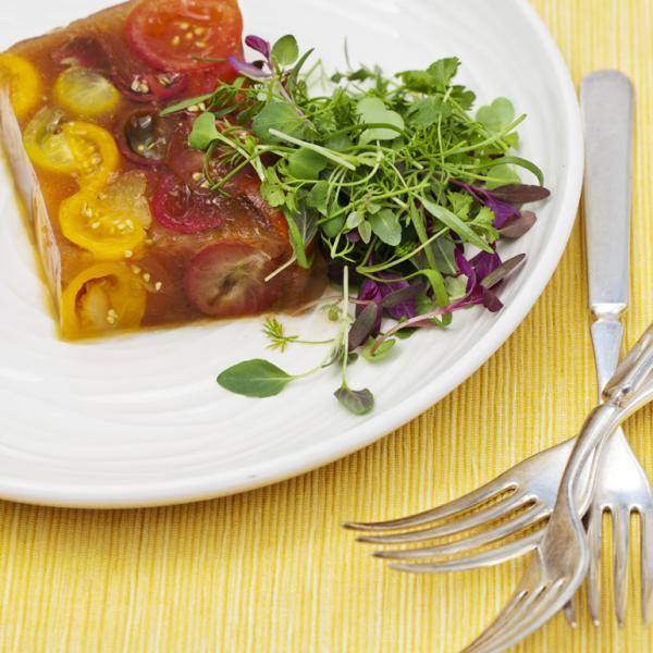 You won 39 t throw tomatoes at these recipes alabama public for Tomato terrine