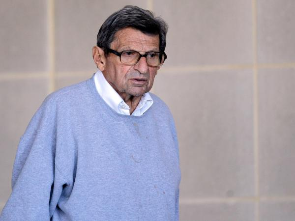 Joe Paterno on Nov. 8, 2011, the day before his firing.