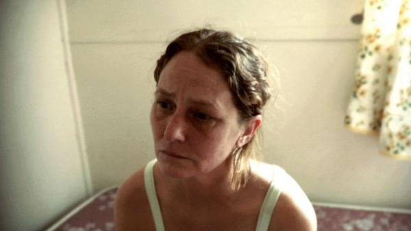 <em></em>Former inmate Francine (Melissa Leo) struggles with her newfound freedom.