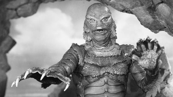 1954's <em>Creature from the Black Lagoon</em> is featured in the new release of Universal's classic monster movies.