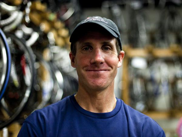 Jared Fisher, who runs an outdoor recreation and bicycle company, voted for Barack Obama in 2008. He says he has yet to decide who he'll vote for this year.