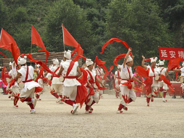 "Traditional Shaanxi folk dances also lighten the mood during ""The Defense of Yan'an,"" which ends with a rendition of ""Socialism is Good"" that the audience joins."