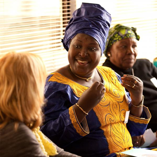Angele Ciza of Burundi owns her own land on 10 hectares (nearly 25 acres), which holds 26,000 Arabic coffee trees.