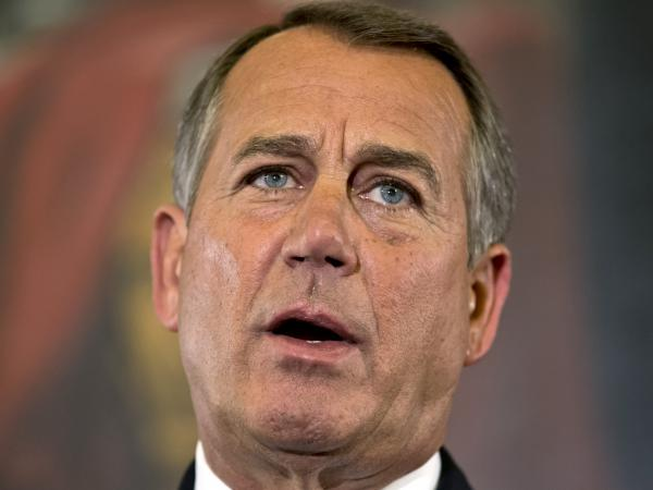 "Speaker John Boehner, R-Ohio, said Wednesday that House Republicans are willing to accept new revenues ""under the right conditions."""