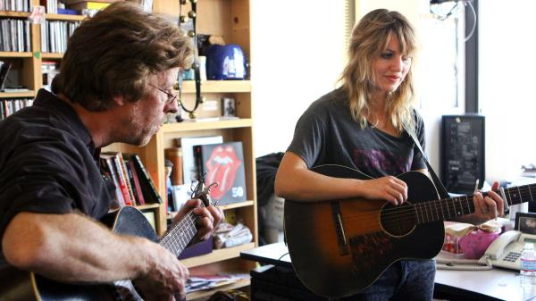 Anais Mitchell performs a Tiny Desk Concert on Oct. 23, 2012.