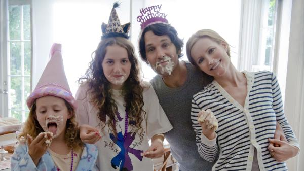 Five years after <em></em>Judd Apatow's <em>Knocked Up</em>, Paul Rudd and Leslie Mann reprise their roles as married couple Pete and Debbie. Now years into their marriage with two kids (played by Iris and Maude Apatow), Pete and Debbie approach 40 less than gracefully.