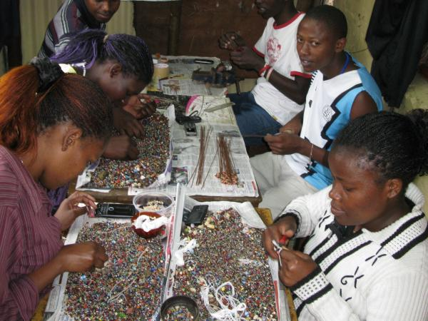 Zakale Creations is a jewelry-designing operation that employs 30 young people who were previously involved in crime. The Nairobi-based operation is the brainchild of John Mucheru, himself a former mugger.