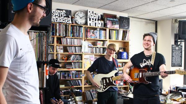 Alt-J Tiny Desk Performance NPR 2012
