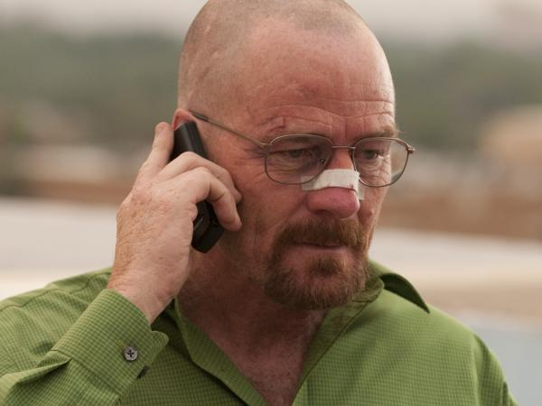 Bryan Cranston as Walter White in <em>Breaking Bad</em>.