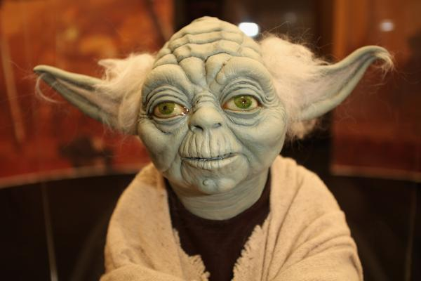 Alien, he was: Yoda is among Freeborn's most famous creations.