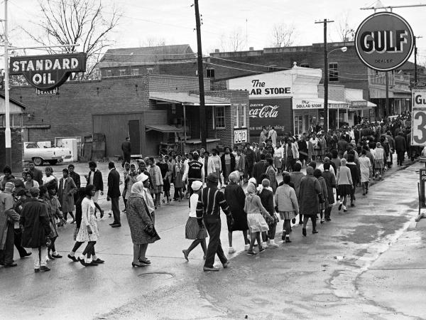 When John Queen was killed in August 1965 in front of the ice house (the building between the Standard Oil station and The Dollar Store), rules of racial inferiority were so entrenched in Fayette, Miss., that black residents felt they couldn't complain. But just four months later things did change, and black residents marched on Dec. 24 as part of a boycott against white-owned businesses.