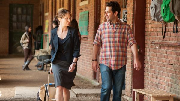 High-strung Princeton University admissions counselor Portia (Tina Fey) finds old love — and a surrendered child — when she visits the Vermont prep school where old schoolmate John (Paul Rudd) is a teacher.