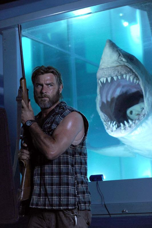 As the equally out-there shark hunter Trevor, Liev Schreiber comes across as wasted talent in the largely uneven <em>Mental.</em>