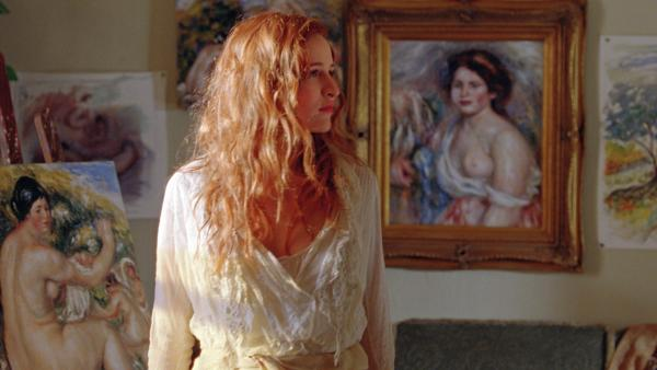 In director Gilles Bourdos' biopic <em>Renoir</em>, Christa Theret plays Andree Heuschling, who served as a muse for both the aging Impressionist master and his young filmmaker son.
