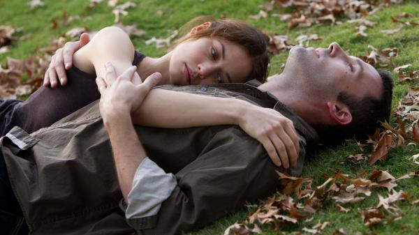 Olga Kurylenko and Ben Affleck play two lovers in Terence Malick's latest film, <em>To The Wonder</em>.