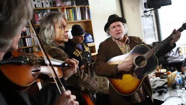 Buddy Miller and Jimmy Lauderdale perform a Tiny Desk Concert at NPR in Washington, D.C., on Feb. 19, 2013.