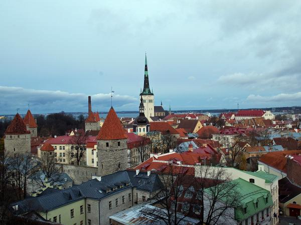 The old town area of Tallinn, Estonia, is dotted with medieval buildings that reflect its long history. But the city has placed great emphasis on high-tech since the country broke away from the Soviet Union two decades ago.