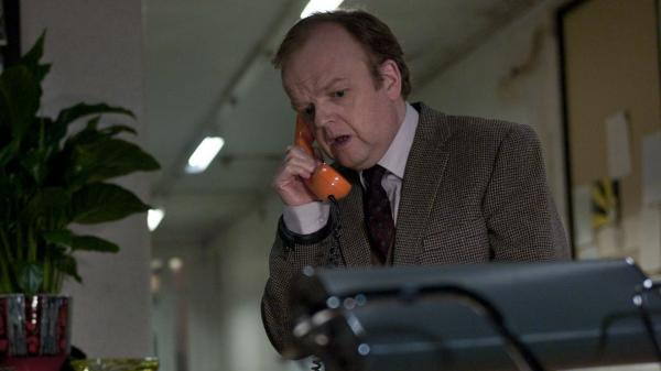 Toby Jones plays a solitary sound engineer working night shifts in <em>Berberian Sound Studio, </em>a cunningly structured, deftly executed love letter to the gory Italian scarefests called <em>giallos.</em>