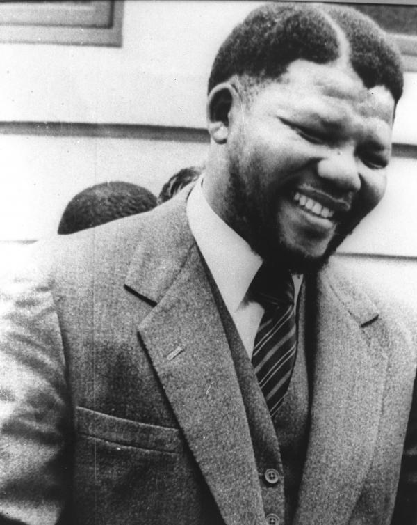 Nelson Mandela, pictured in the early 1960s, before he was sentenced in 1964 to life in prison for sabotage. The government did not release photos of Mandela during his many years in prison, and few people knew what he looked like at the time of his release.