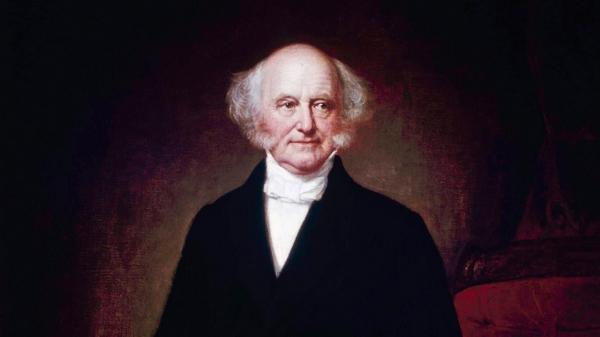 Martin Van Buren, the eighth president of the United States.