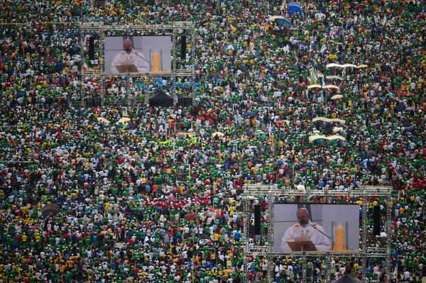Brazil has more Catholics than any other country.