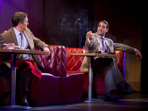 Bobby Cannavale (right) starred in <em>Glengarry Glen Ross</em> on Broadway. Cannavale has also starred in television shows such as HBO's <em>Boardwalk Empire</em> and in films such as <em>The Station Agent</em>.