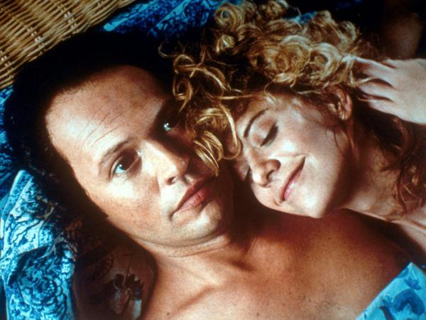 Crystal and Meg Ryan co-starred in Rob Reiner's <em>When Harry Met Sally</em>, a Nora Ephron-written comedy containing perhaps film history's most memorable dinner-table scene.